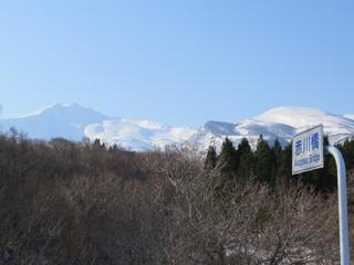 赤川橋からの鳥海山.jpg